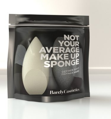 Barely Cosmetics Definer Soft and Hard Sponge Duo Pack