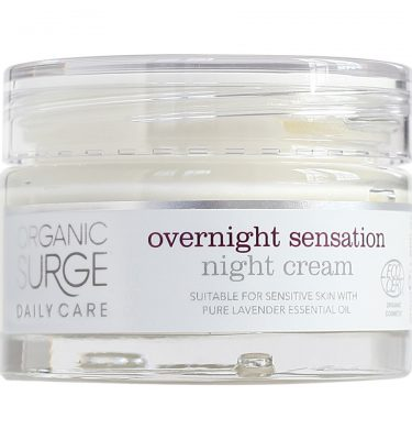 Organic Surge Overnight Sensation Night Cream @ beYOUtifi 1