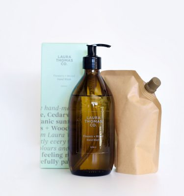 Laura Thomas Flowers and Wood Hand Wash Refill @ beYOUtifi