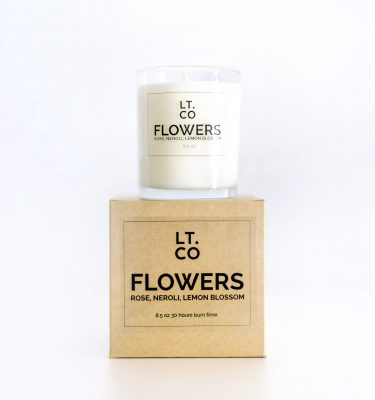 Laura Thomas Flowers Scented Candle @ beyoutifi 1.