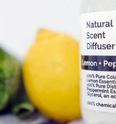 Laura Thomas Lemon and Peppermint Diffuser @ beYOutifi 3