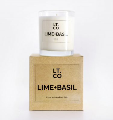 Laura Thomas Lime and Basil Scented Candle @ beYOutifi