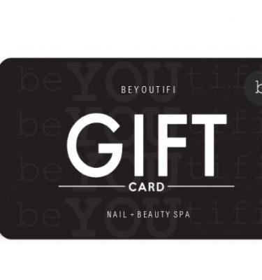Gift Cards @ beyoutifi