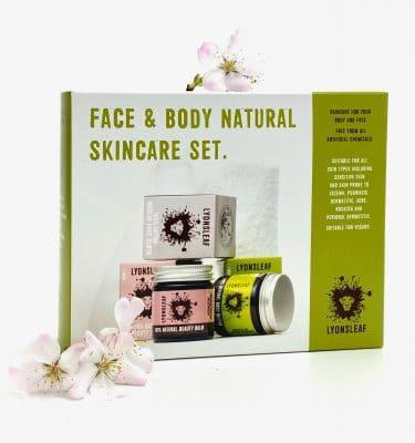 Lyonsleaf Face and Body Natural Skincare Set @ beyoutifi 1