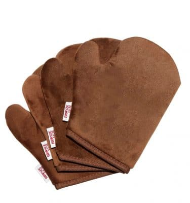 Bronze Leaf Tan Application Mitt @ beyoutifi