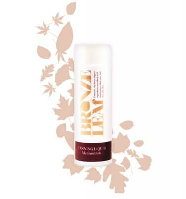 Bronze LeafMedium/Dark Tanning Liquid @ beyoutifi 1