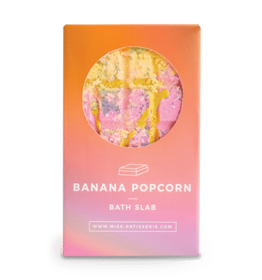 Banana Popcorn Bath Slab @ beYOUtifi 1