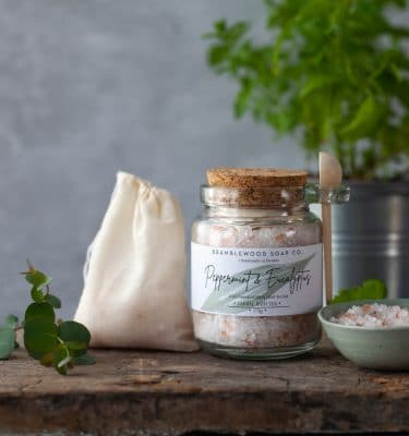 Bramblewood Peppermint & Eucalyptus Bath Tea @ beyoutifi 2