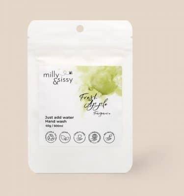 Milly & Cissy Fresh Apple Hand Wash Refill – 500ml 1