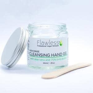 Flawless Non Rinse Cleansing Hand Gel @ beyoutifi 1
