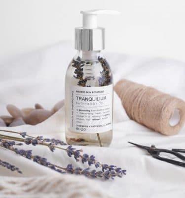 Belenos Skin Botanique Tranquilium Bath + Body Oil @ beyoutifi 1