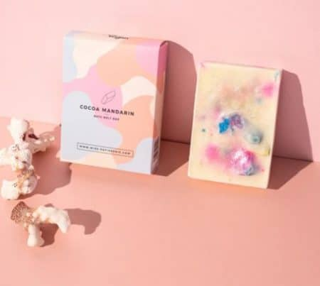 Miss Patisserie Coco & Mandarin Bath Melt Bar @ beyoutifi 1