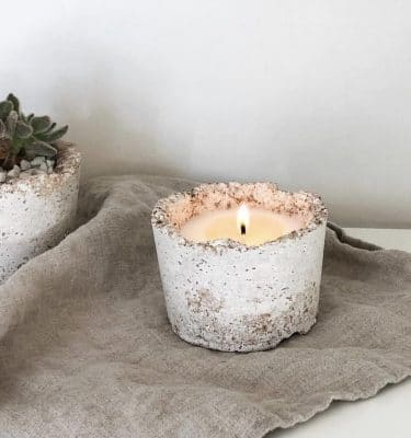 Invigorating Potted Soy Candle @ beyoutifi 1