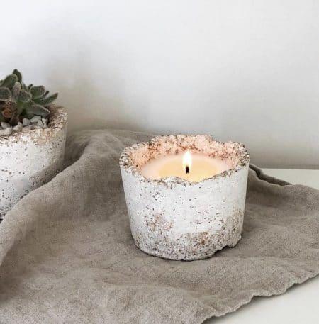 Invigorating Potted Soy Candle @ beyoutifi 1